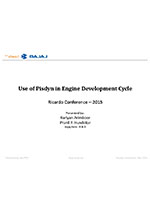 Use of PISDYN in engine development cycle